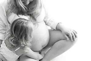 Stunning pregnancy photography Wirral studio