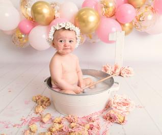 1st birthday photoshoot wirral