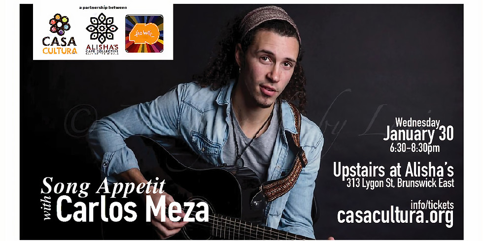 Song Appetit with Carlos Meza