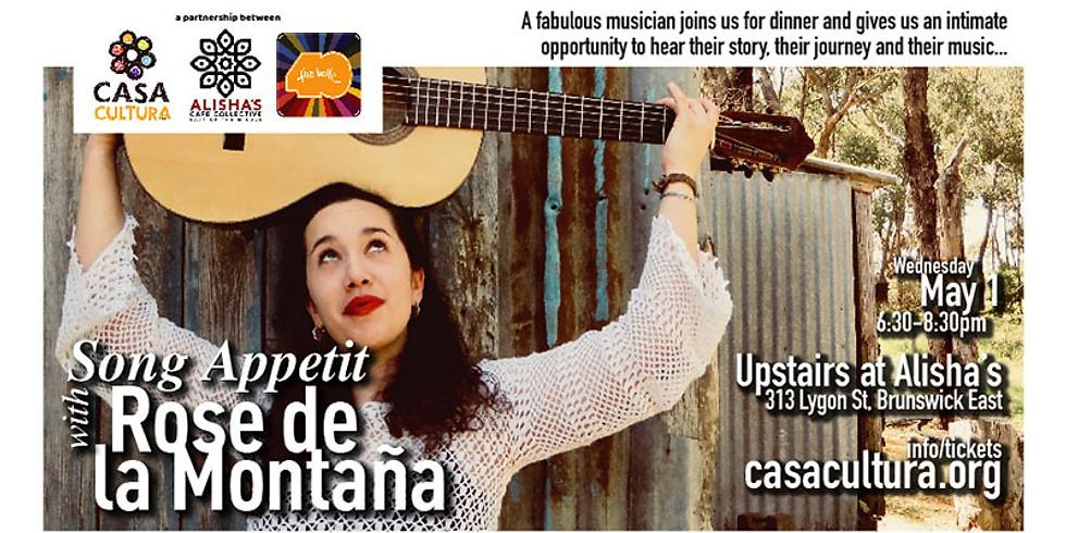 Song Appetit with Rose de la Montaña