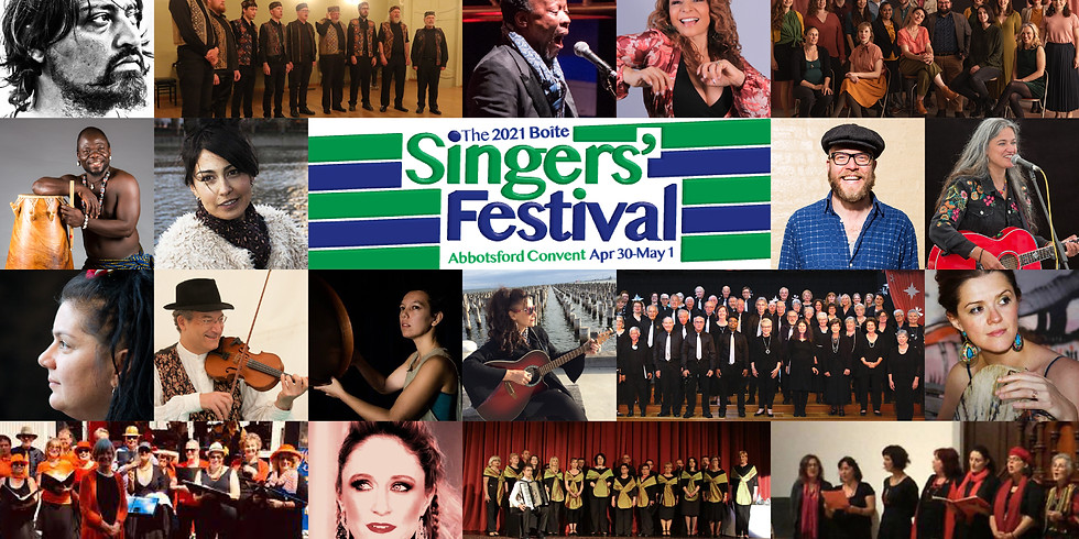 The 2021 Boite Singers' Festival