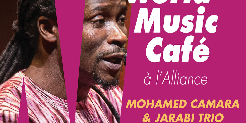 World Music Cafe a l'Alliance presents Jarabi Trio