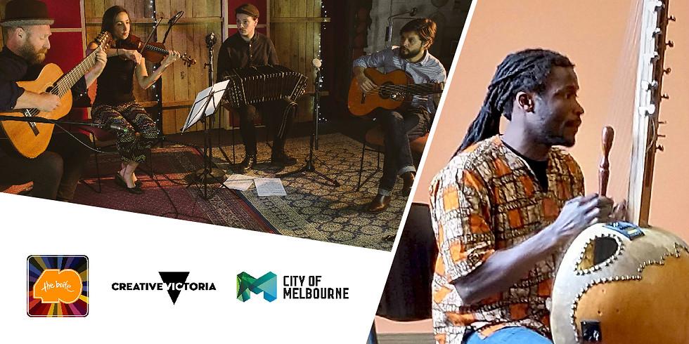 Faro Negro + Mohamed Camara and Jarabi Trio
