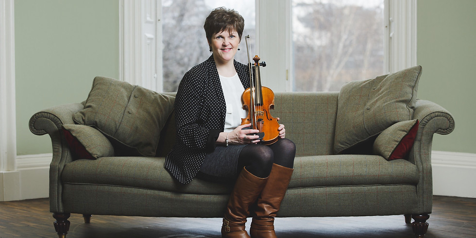 Margaret Robertson and Melbourne Scottish Fiddle Club