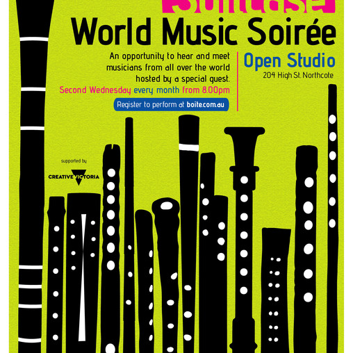 New series – Suitcase: World Music Soirée