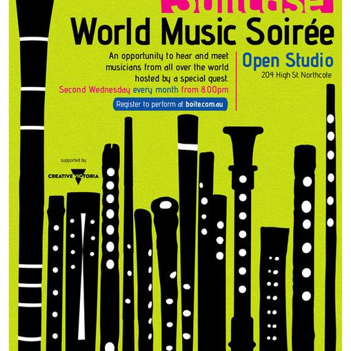 New series – Suitcase: World Music Soirée