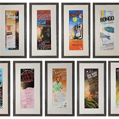 The Boite Millennium Chorus Pole Poster Collection