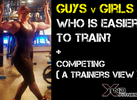 A Trainers View on Guys v Girls