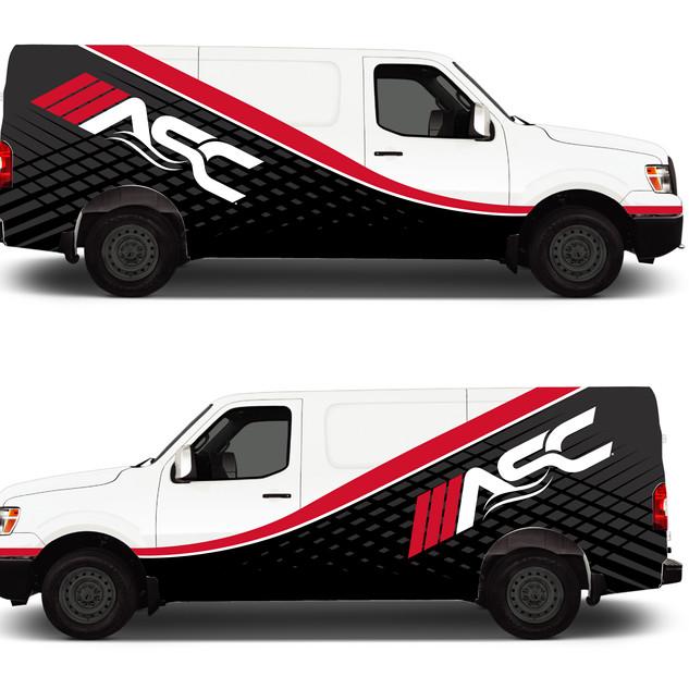 ASC Van Wrap