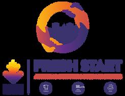 """DLBA's """"Fresh Start"""" Logo"""