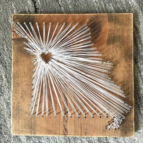 Missouri State String Art