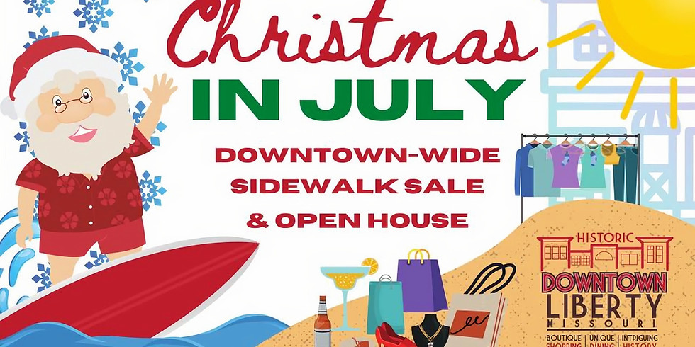 Christmas In July - Sidewalk Sale