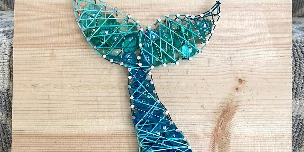 DIY @ Home Kit! Mermaid String Art