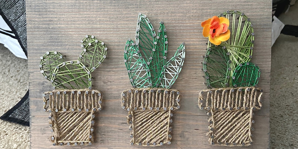 Cactus String Art 31July