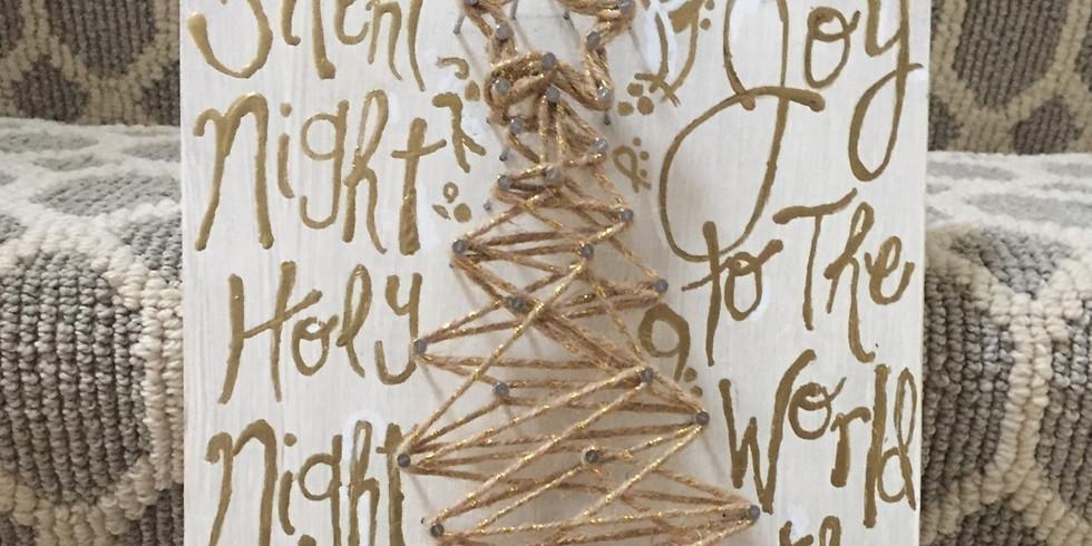 Holiday String Art 30NOV