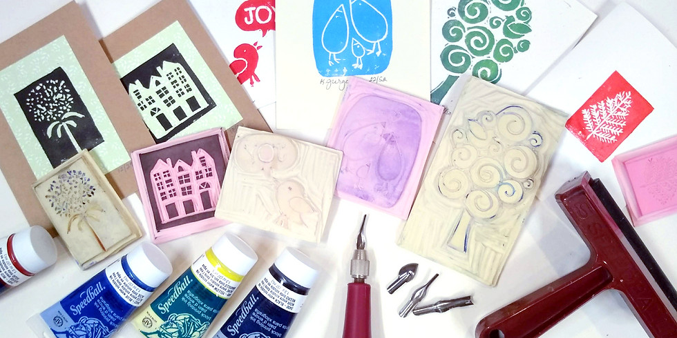 Carving - Stamp Making 26OCT