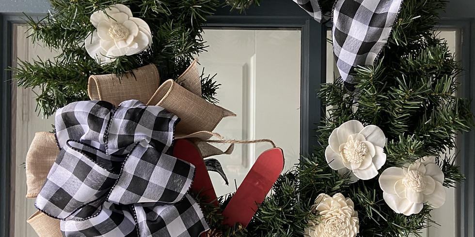 Registration Closed - Holiday Wreath 21Nov @ Liberty Star Farm