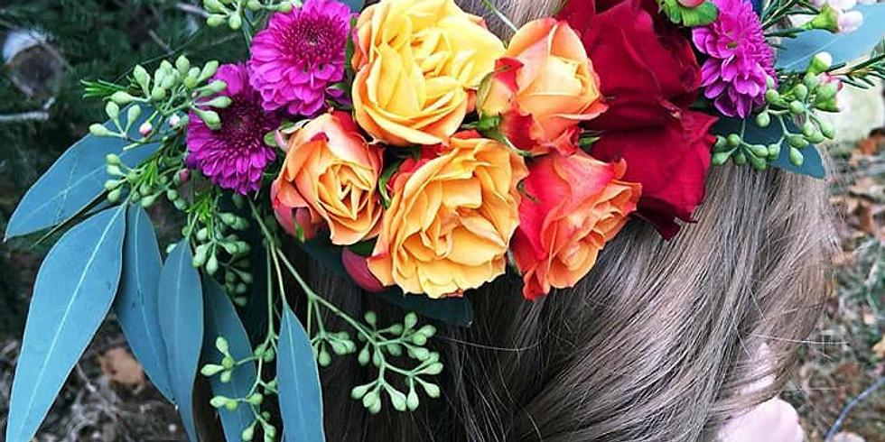 Floral Artwork - Fresh Flower Crown 15JUN