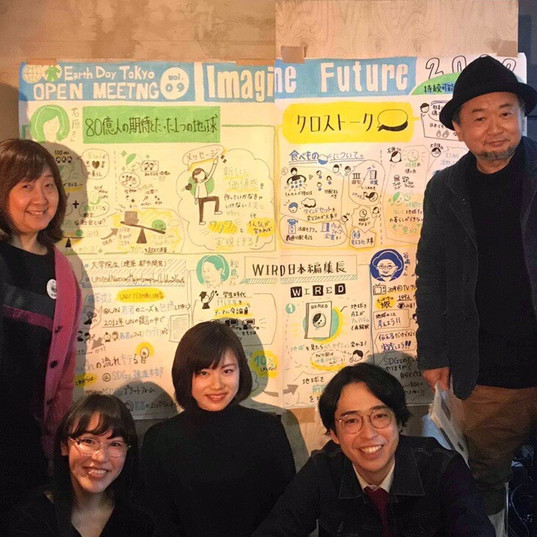 Earth Day Tokyo様