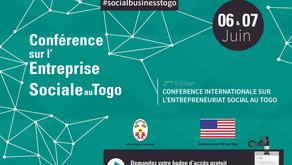 2eme Edition de la conférence internationale sur l'entrepreneuriat social au Togo les 06 et 07 Juin