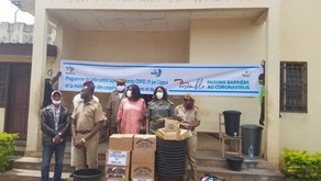 DONATION OF HEALTH KITS IN THE FIGHT AGAINST THE SPREAD OF COVID19