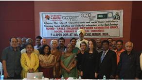 Table-ronde de dialogue en Inde, avril 2015