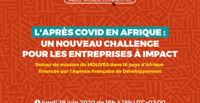 POST-COVID IN AFRICA : A NEW CHALLENGE FOR IMPACT ENTERPRISES