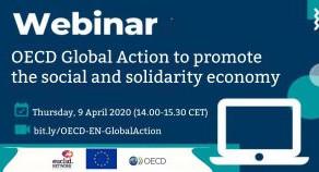 """WEBINAR """"OECD GLOBAL ACTION TO PROMOTE SSE"""": LEGAL FRAMEWORKS FOR SSE"""