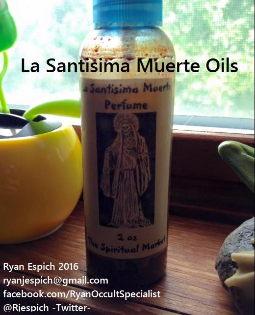 La Santisima Muerte Oil Recipes   mrouija