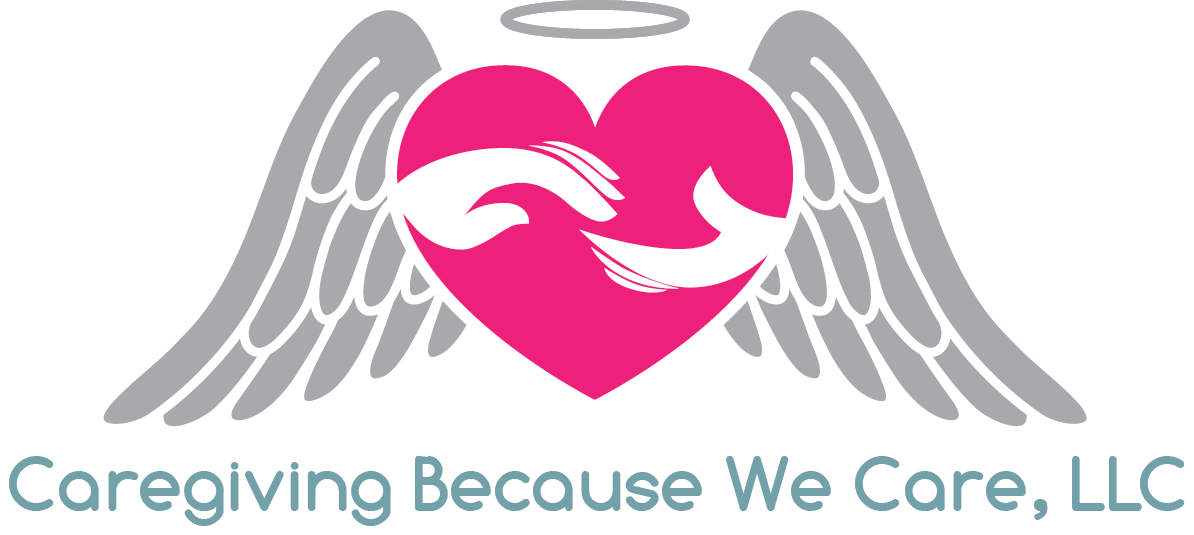 Caregiving business logo