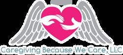 Caregiving business logo