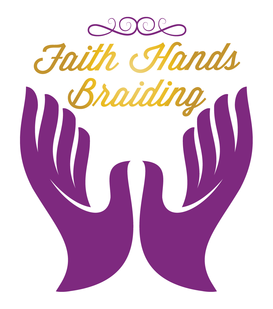 Faith Hands Braiding mobile business logo