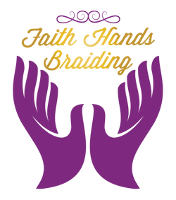 Faith Hands Braiding mobile business logo