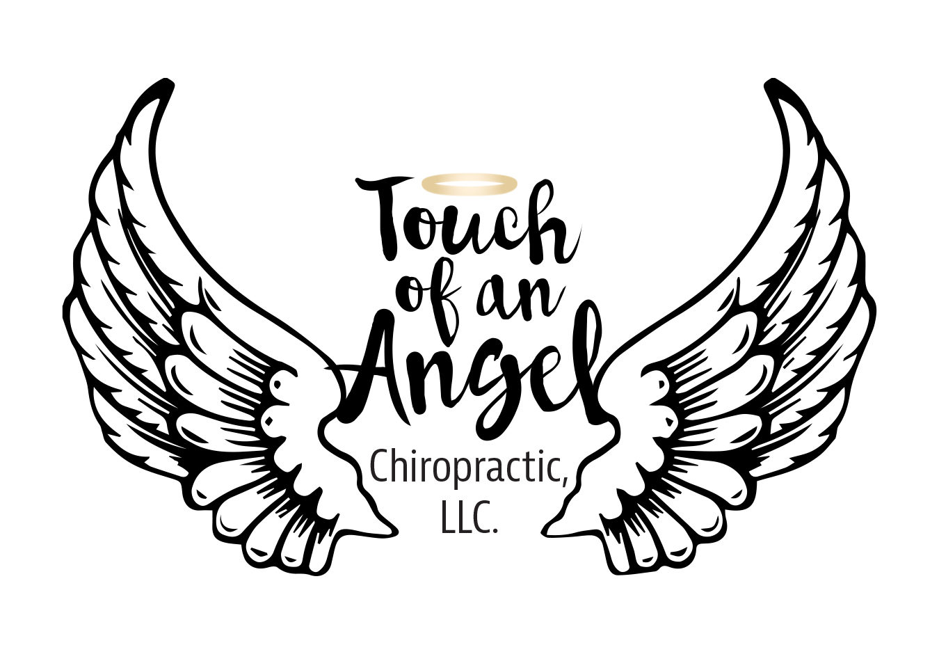 Touch of an Angel mobile business ogo