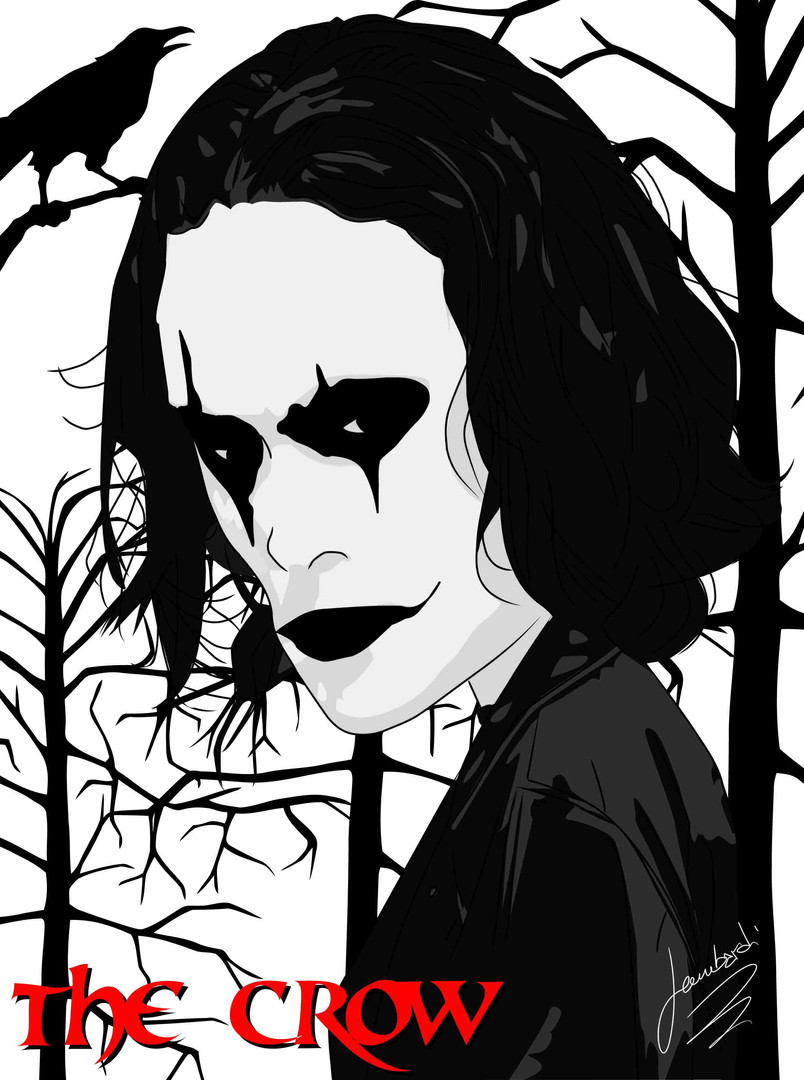 Caricatura The Crow.jpg