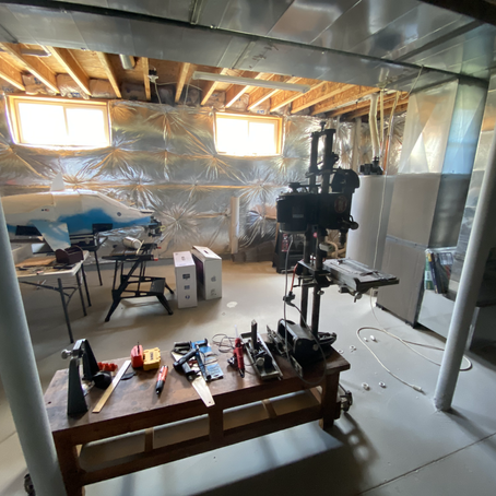 workspace updates: fixing up the basement lab from a few years ago [updates]