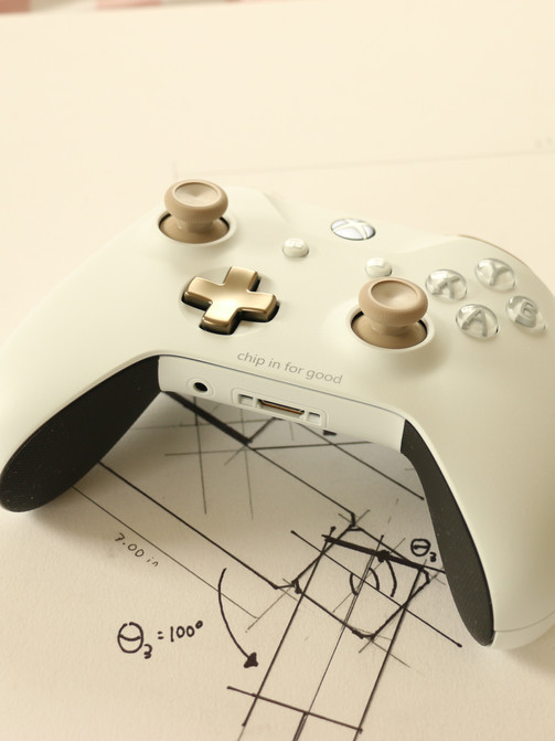 XBox Controller + Drawings