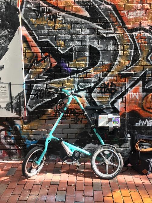 Bike on Graffiti