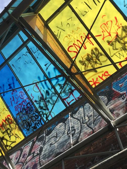 Graffiti Alley Cambridge