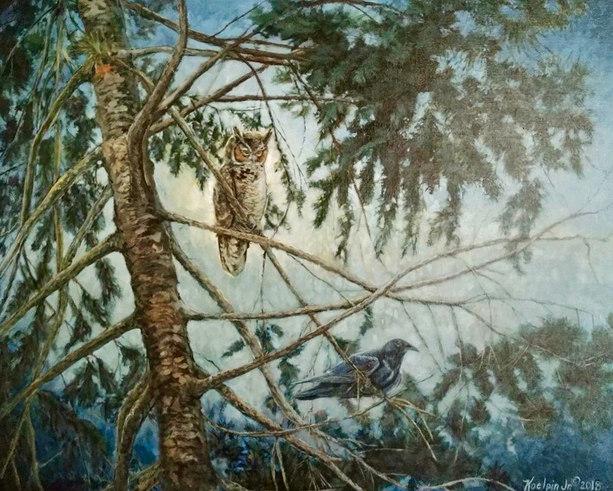 Birds in the Woods
