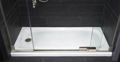 אינסטלציה לריצפת מקלחון