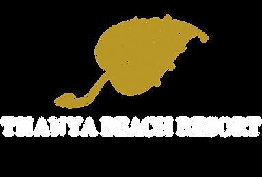 Thanya Resort Gold and white Logo flat.p