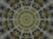 digital art with pewter and gold mandala, image of pewter and gold mandala, circular image, geometric digital art, digital art by Jodi DiLiberto