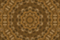 Digital image of a golden mandala, digital image resembling a basket, digital art by Jodi DiLiberto