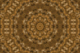 Digital image of a golden mandala, digital image resembling a basket, digital art by Jodi DiLiberto