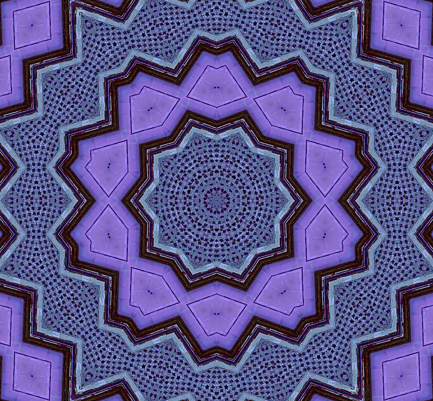 image of purple kaleidoscope with brown edges, image by Jodi DiLiberto