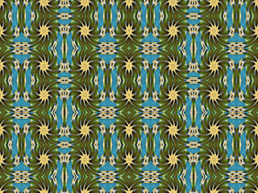 image of dancing stars with turquoise columns, image by Jodi DiLiberto