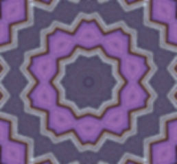 image of purple geometric kaleidoscope with silver edges, image by Jodi DiLiberto