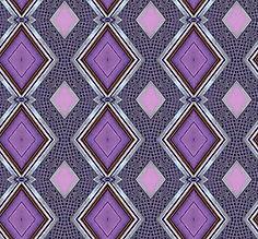 image of purple diamonds in silver frames