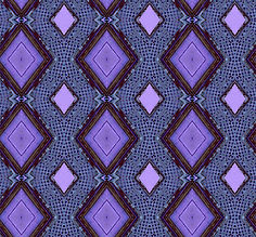 image of purple diamonds with dark brown frames, image by Jodi DiLiberto